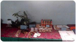 Mokunda Women cookies,  beads products and nontimber trees nursed
